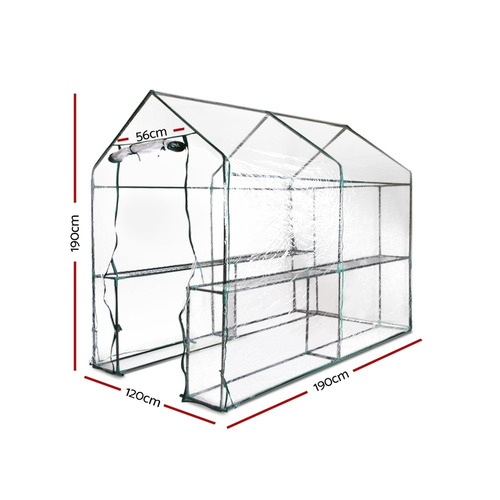 Dwell Outdoor 190 x 120cm Transparent Gramen PVC Greenhouse Cover
