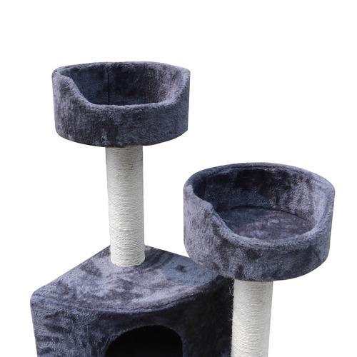 Dwell Pets Grey 126cm Cat Scratch Tree