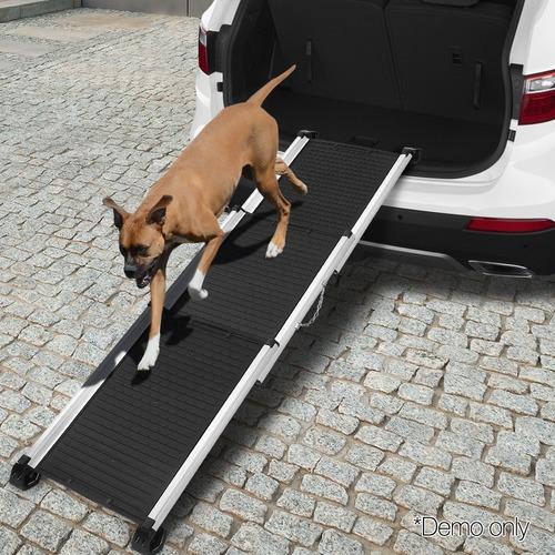 Dwell Pets Deluxe Foldable Non-Slip Aluminium Pet Ramp