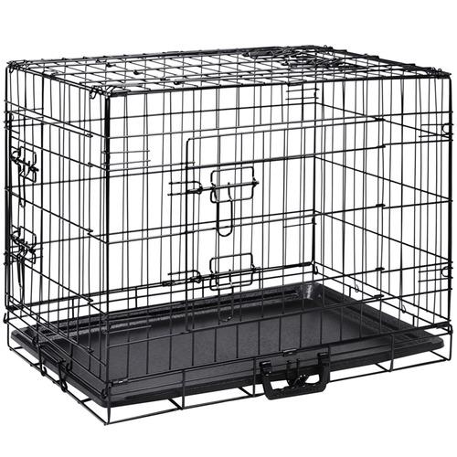 Dwell Pets Black Steel Pet Cage