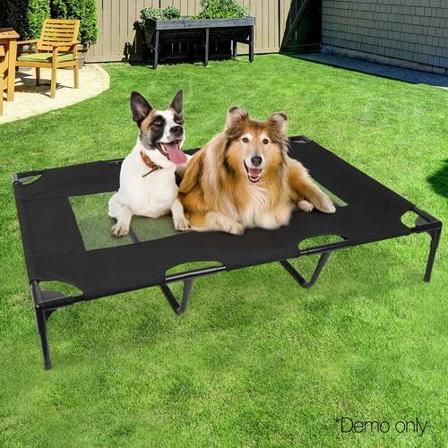 Dwell Pets Black Mesh Pet Trampoline