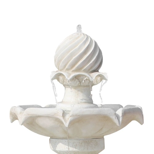 Dwell Lifestyle Ivory Solar Powered 3 Tier Water Fountain
