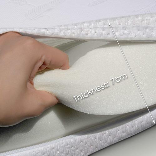 thick mattress topper. Dwell Lifestyle Visco Elastic Memory Foam Mattress Topper 7cm Thick Thick Mattress Topper
