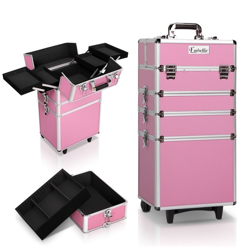 Dwell Lifestyle 4-in-1 Portable Beauty Make Up Cosmetic Trolley
