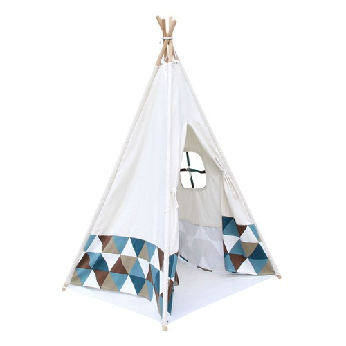 Dwell Lifestyle 4 Poles Teepee Tent w/ Storage Bag
