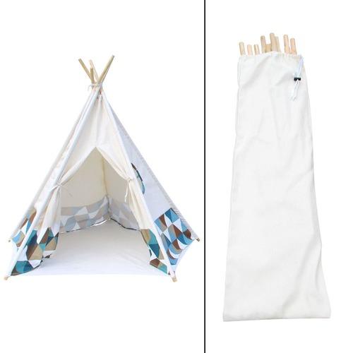 Dwell Lifestyle 5 Poles Teepee Tent w/ Storage Bag