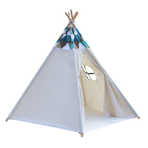 Dwell Lifestyle 5 Poles Teepee Tent w/ Storage Bag