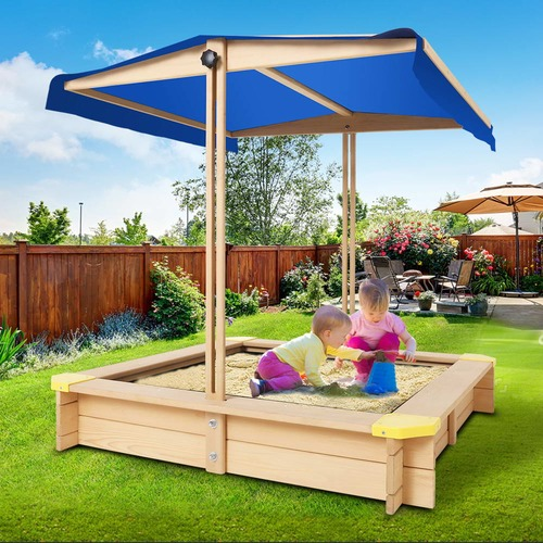Dwell Lifestyle 110cm Children Canopy Sand Pit