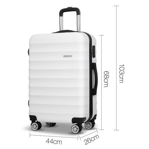 Dwell Lifestyle 3 Piece Lightweight Hard Suitcase Set
