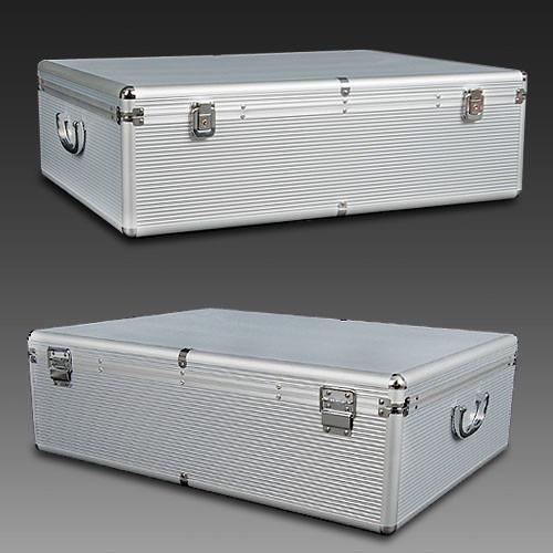 Dwell Lifestyle 1000 Capacity Aluminium CD Storage Case