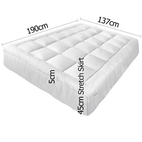 Dwell Lifestyle Pillowtop Mattress Topper