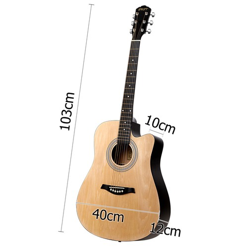 """Dwell Lifestyle 41"""" Steel-Stringed Acoustic Guitar"""