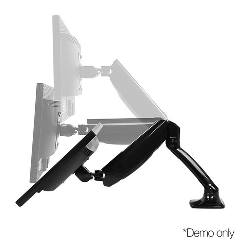 Dwell Lifestyle Fully Adjustable Dual Monitor Arm Stand