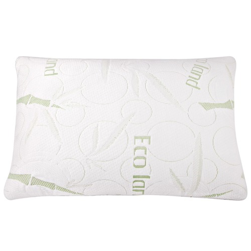 DwellLifestyle Bamboo Fabric Cover Shredded Memory Foam Pillow Enchanting Bamboo Covered Memory Foam Pillow