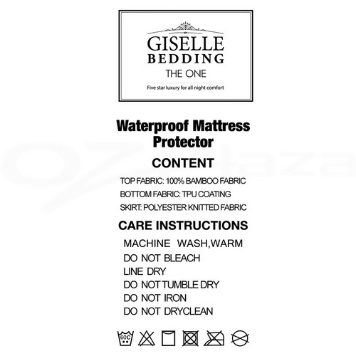 Dwell Lifestyle Bamboo Waterproof Mattress Protector