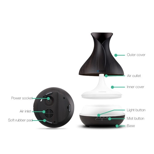 Dwell Lifestyle 400ml 4-in-1 Model 4 Aroma Diffuser