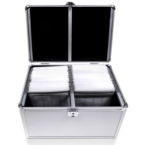 Dwell Lifestyle Aluminium CD Storage Case