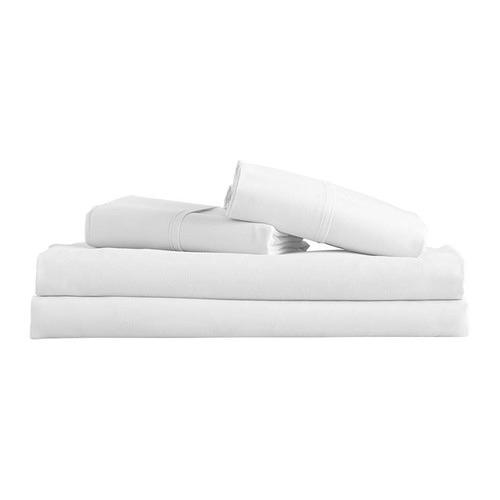 Dwell Lifestyle White Microfibre Sheet Set