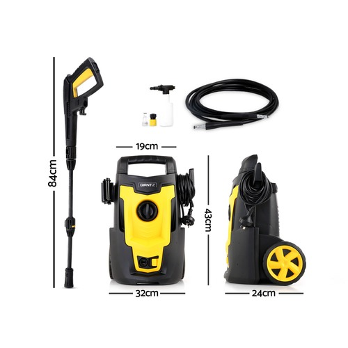 Dwell Lifestyle Yellow Giantz 3100PSI High Pressure Hose
