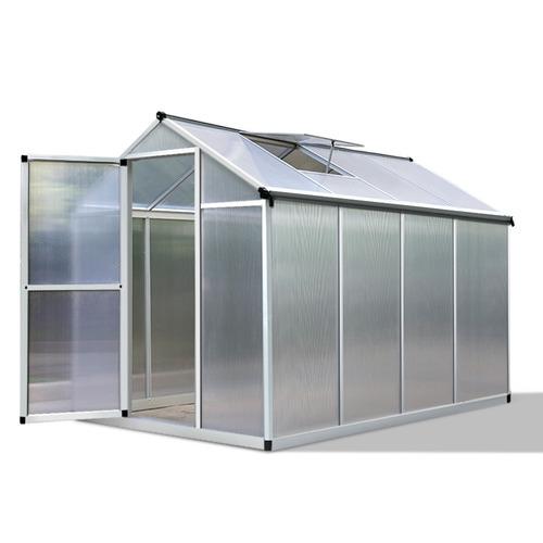 Polycarbonate Aluminium Greenhouse