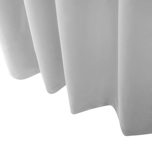 Dwell Lifestyle Light Grey Blockout Curtains