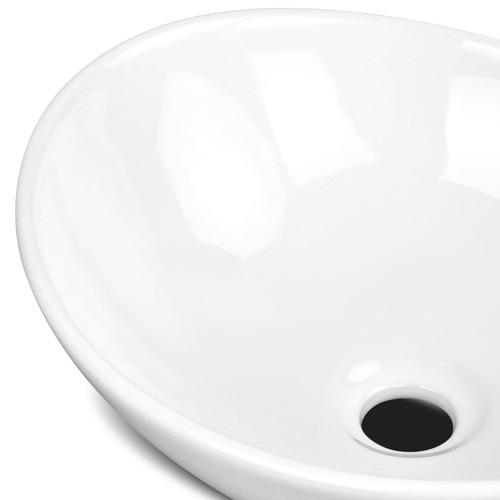 Dwell Lifestyle Idra Oval Ceramic Sink Bowl