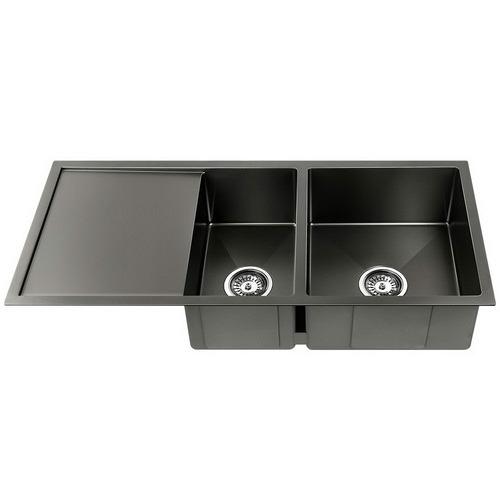 Dwell Lifestyle Black Gideon Stainless Steel Kitchen Sink