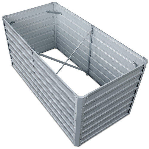 Dwell Lifestyle Rectangular Galvanised Steel Raised Garden Beds