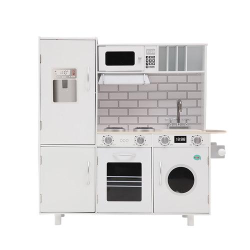 Dwell Lifestyle White Kids' Keezi Kitchen Play Set