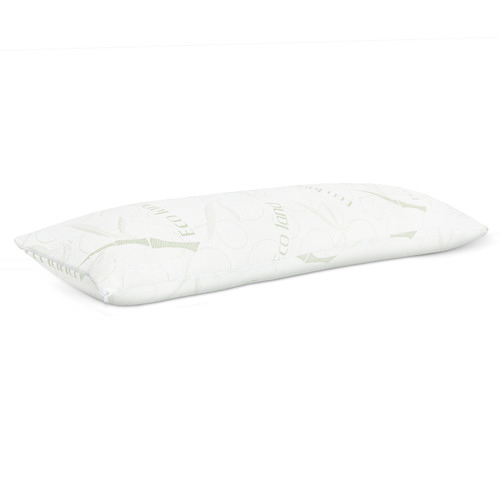 Dwell Lifestyle White Adriana Full Body Memory Foam Pillow