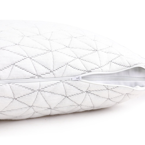 Dwell Lifestyle White Adriana Rayon Memory Foam Pillows