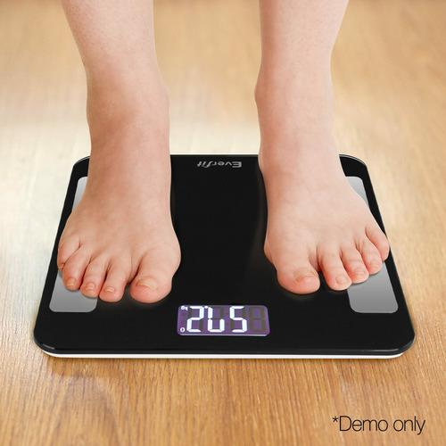 Dwell Lifestyle Black Digital Body Fat Scale