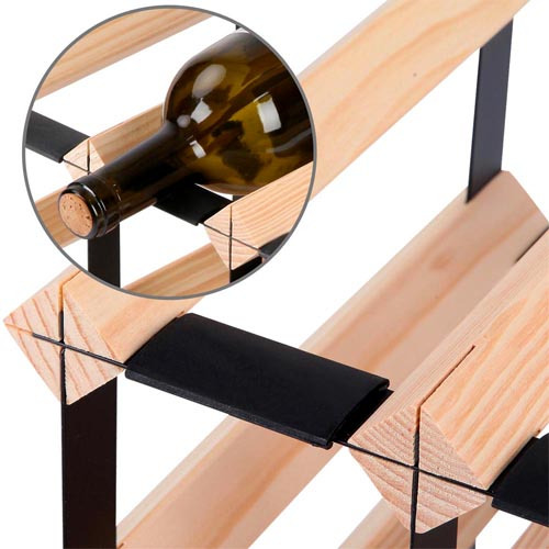 Dwell Lifestyle 20 Bottle Mornington Wine Rack