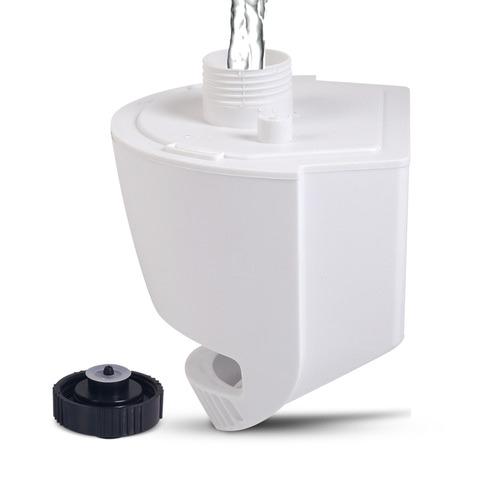 Dwell Lifestyle Black & White Devanti Portable Misting Fan