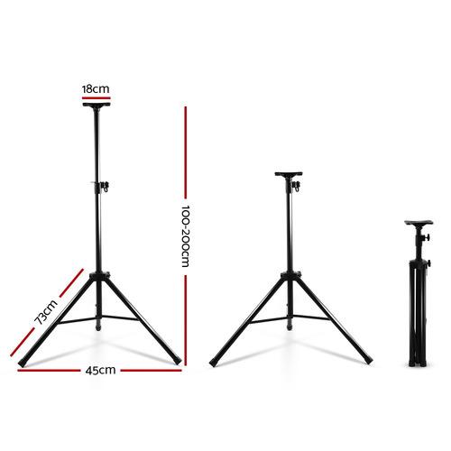 Dwell Lifestyle Freebandz Adjustable Metal Speaker Stands