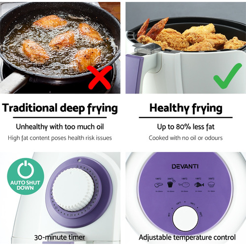 Dwell Lifestyle Devanti Air Fryer