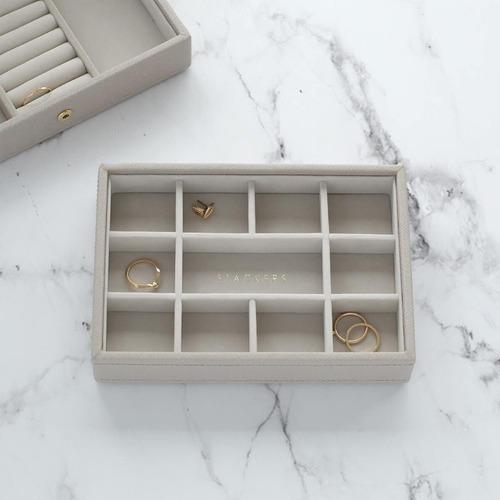 Stackers Australia Taupe Mini Small Trinkets Jewellery Box Layer