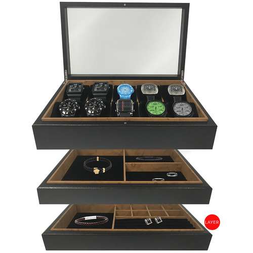 Stackers Australia Stackable 10 Compartment Jewellery Tray