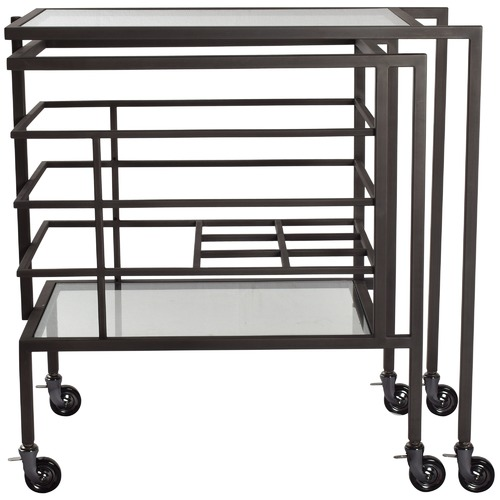 Chartwell Home Transitivo Extendable Drinks Cart