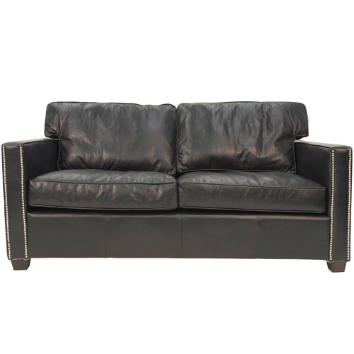 Chartwell Home Peyton 2 Seater Aged Leather Sofa