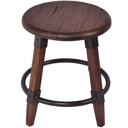 Chartwell Home 45cm Piper Elm Wood Stool