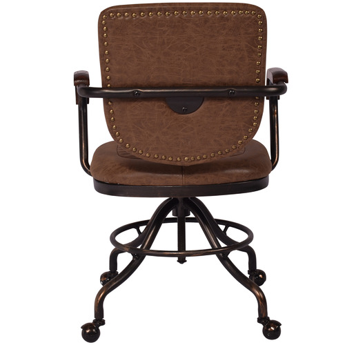 Chartwell Home Millie Faux Leather Swivel Desk Chair