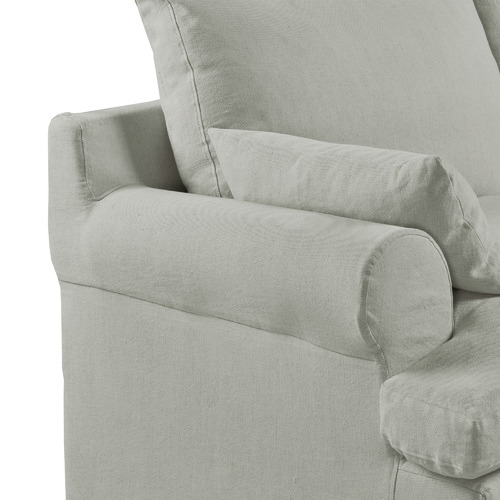 Chartwell Home Charlotte Upholstered 3 Seater Sofa