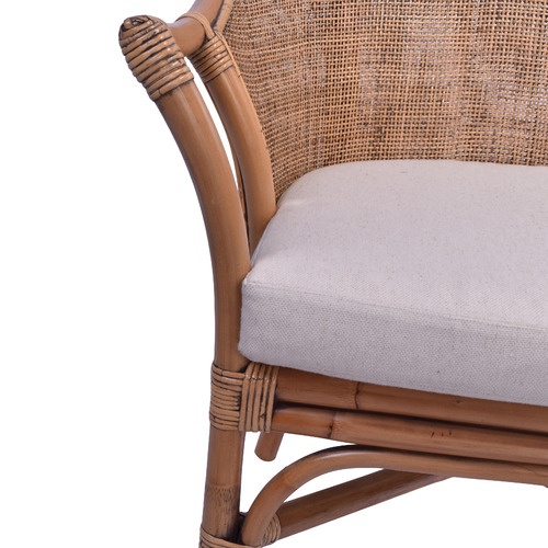 Long Island Rattan Armchair