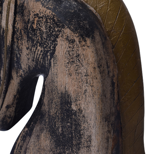 Chartwell Home 2 Piece Antique Brown Astrid Horse Head Ornament Set