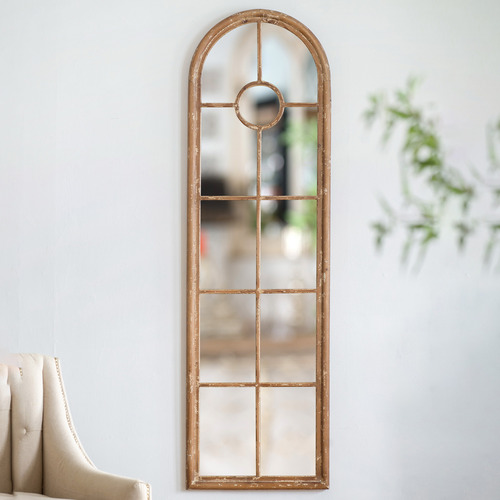 Chartwell Home Natural Safiya Fir Wood Mirror