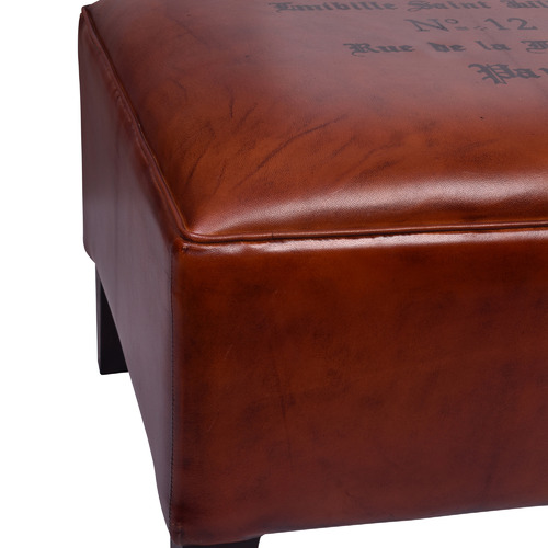 Chartwell Home Tan Astrid Leather Bench