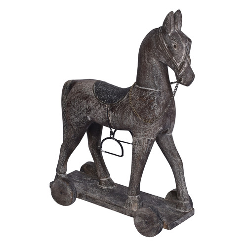 Chartwell Home 42cm Astrid Rolling Horse Ornament