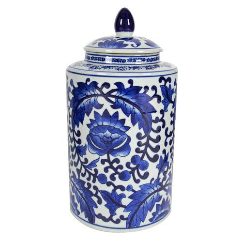 Chartwell Home Lenka Porcelain Temple Jar