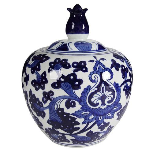 Lenka Porcelain Ginger Jar